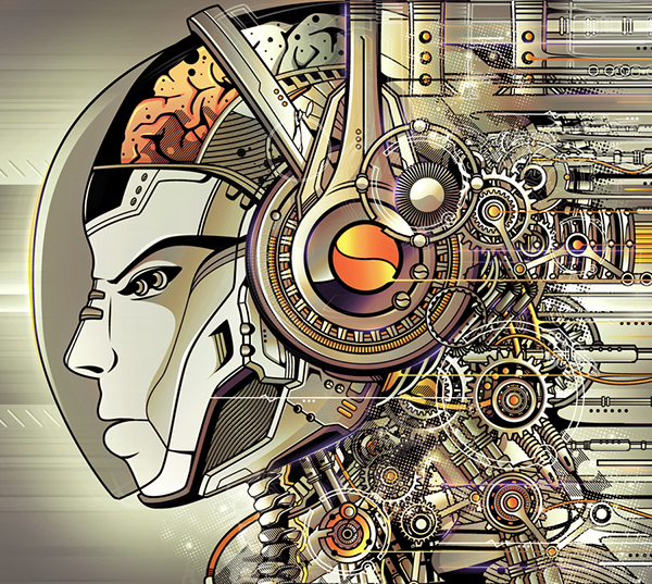 astral projection future human machine android speed hallucination out of body  subjekt zero vector mixed