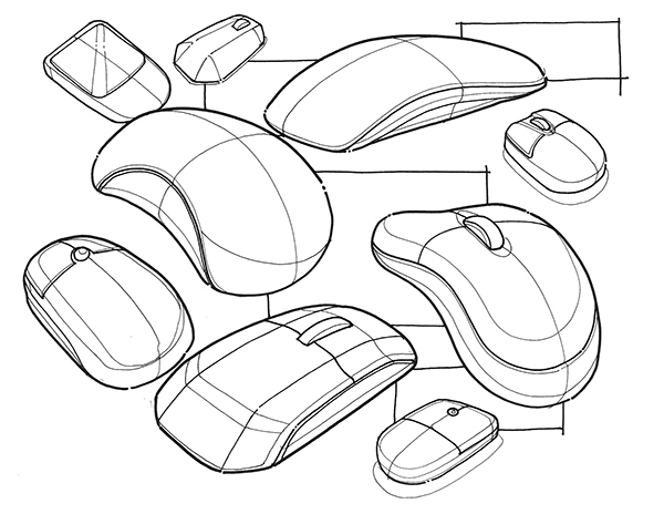 Product Design Line Art : Doodles random sketches on behance
