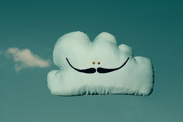 cloud  dali design textile