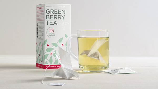 Origami Tea Package Concept