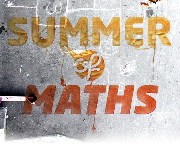 summer maths summer of maths gooey melting Street Hot colour color type Illustrator