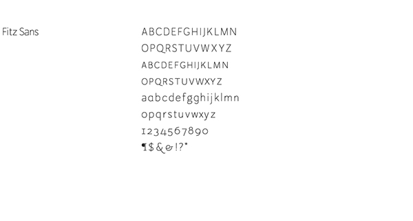 Custom Fonts on SCAD Portfolios