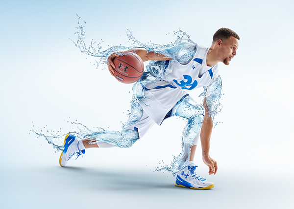 """Steph Curry for Brita """"Drink Amazing"""" by Tim Tadder"""