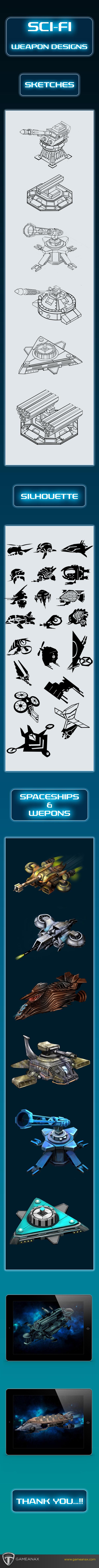 sci-fi sketches digital futuristic art graphics weapons futuristicweapons