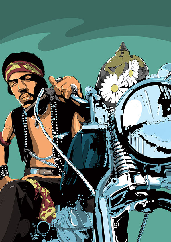 POSTER | Jimi Hendrix by Eixo Design