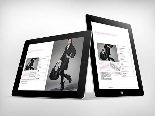 digital fashion magazine template for tablets on pantone canvas gallery. Black Bedroom Furniture Sets. Home Design Ideas
