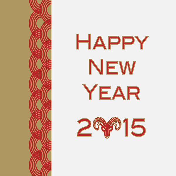 Chinese New Year Greeting Cards (2015) on Behance