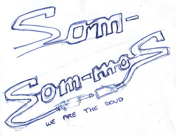 som-mos sound Logotype  branding
