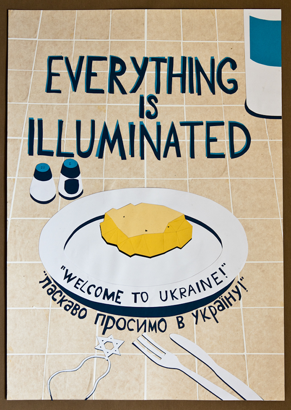 Risultati immagini per everything is illuminated poster