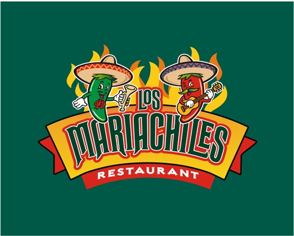 Mariachiles restaurant logo on behance for Mexican logos pictures