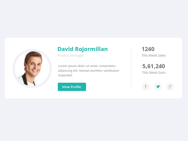 Clean note bootstrap html css social network template.