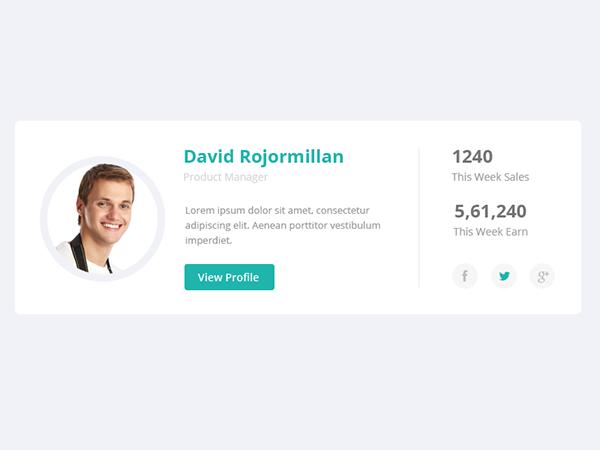 User Profile On Behance