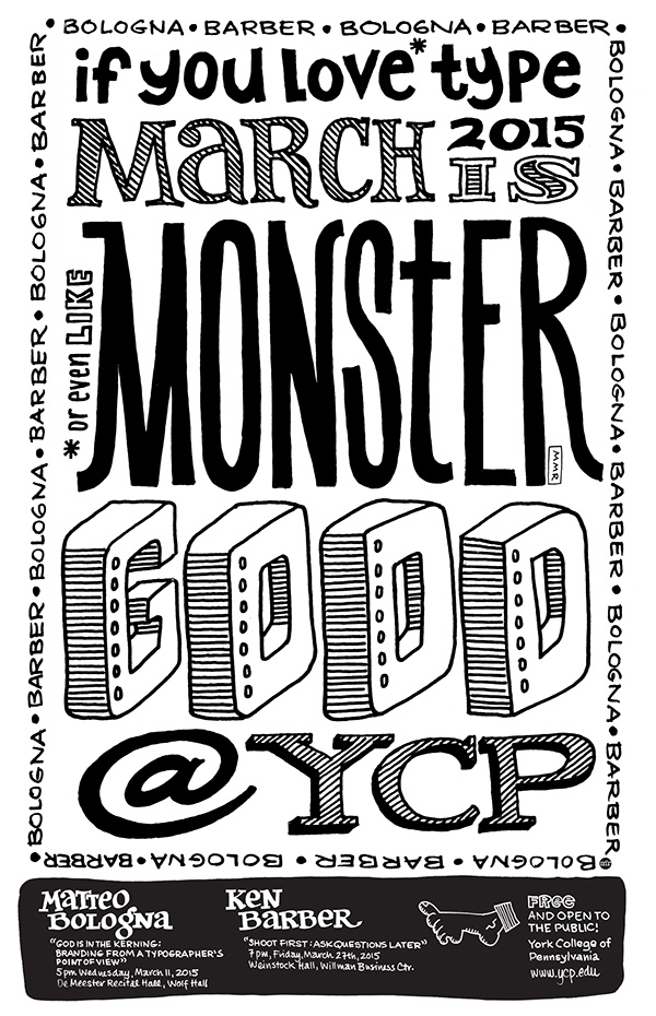 Monster Good Promotional Poster on MICA Portfolios