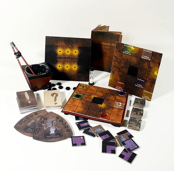 robbinson run board game game game/play