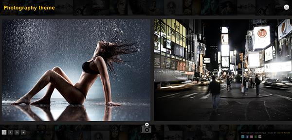 PhotoGrid - WordPress Theme