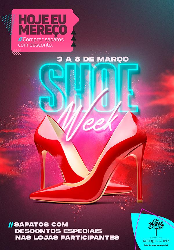 campanha campaign shoe week ad sale Shopping mall social media Redes Sociais