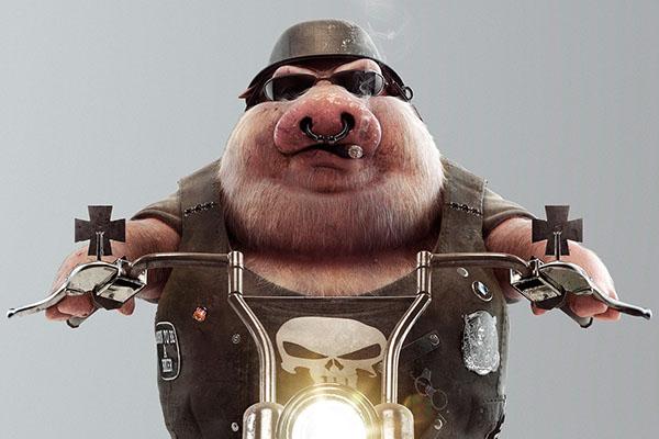 Pig by Fuze Image Maker