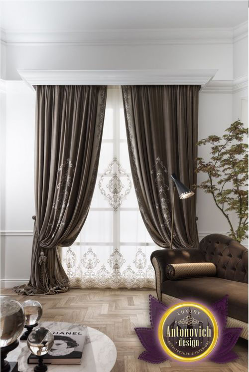 Luxury Curtains From Antonovich Design On Behance