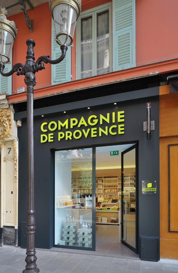Compagnie de Provence Logo la Compagnie de Provence on