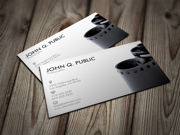 Black and white photographer business cards on behance name black and white photographer business cards business card info vertical 35x2 1 sided font futura medium zazzle font tool colourmoves
