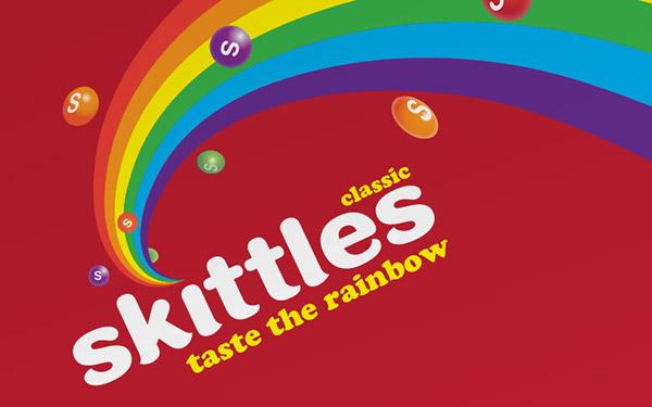 Skittles on Behance Skittles Taste The Rainbow Logo