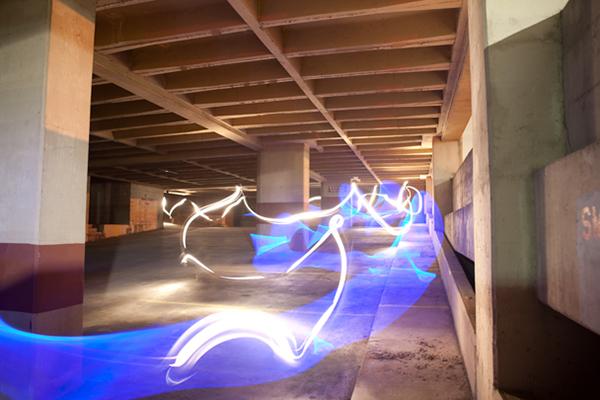 light painting,long exposure,lights