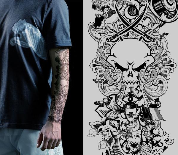 Puma x ray tattoo on behance for X ray tattoo