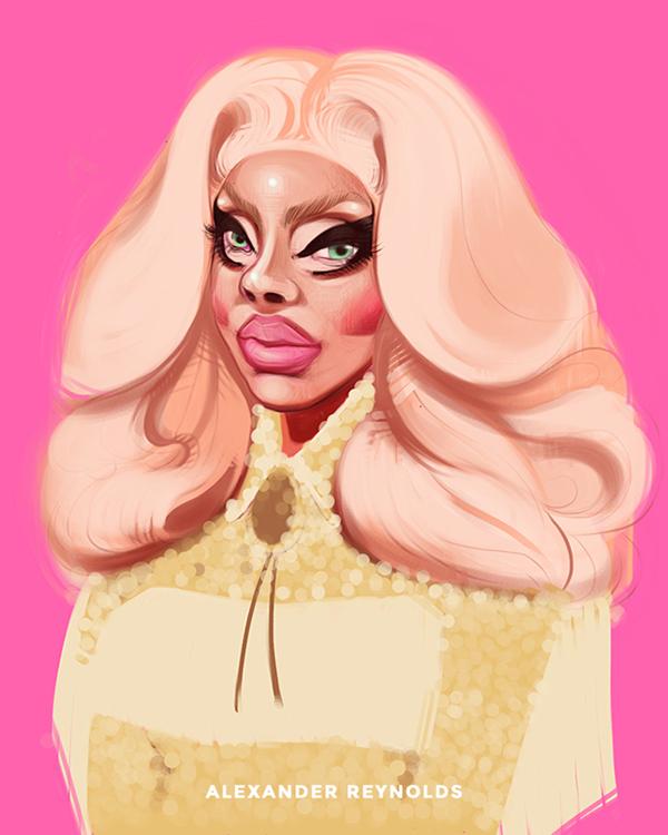 Trixie Mattel on Behance