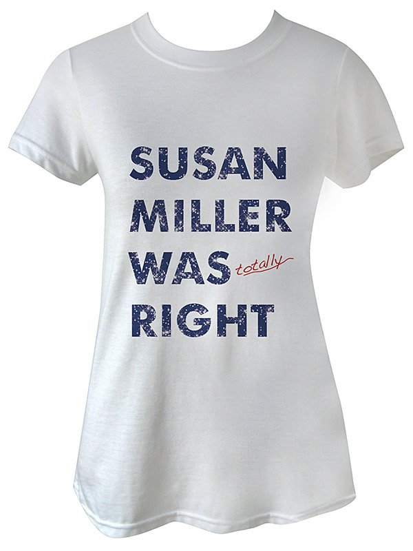 tee tshirt Susan Miller qvizu