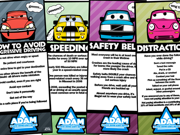 Safe Driving Posters On Behance