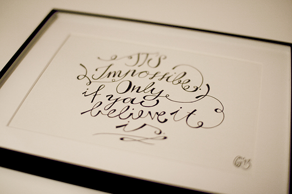 The Calligraphy Project On Behance