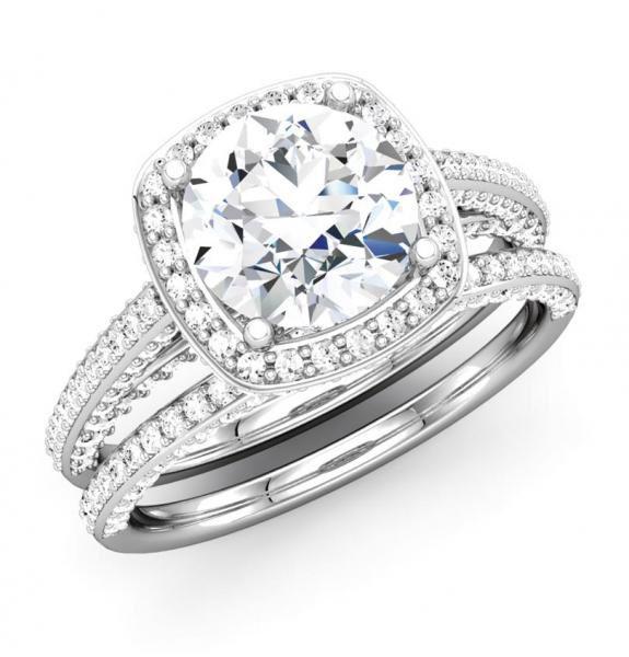 Bridal ring amp wedding jewelry sets under 500 dollars on behance