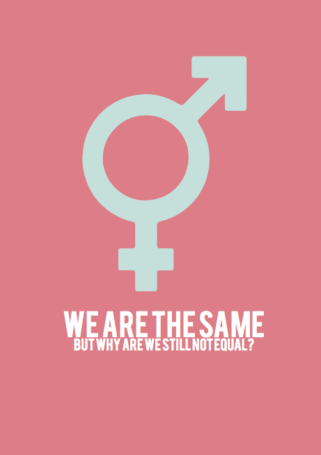Gender Equality on Behance Gender Equality Posters
