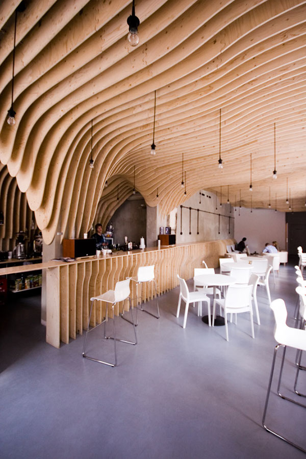 Zmianatematu on behance for Architecte interieur restaurant