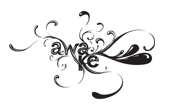 Awake Title page on Behance