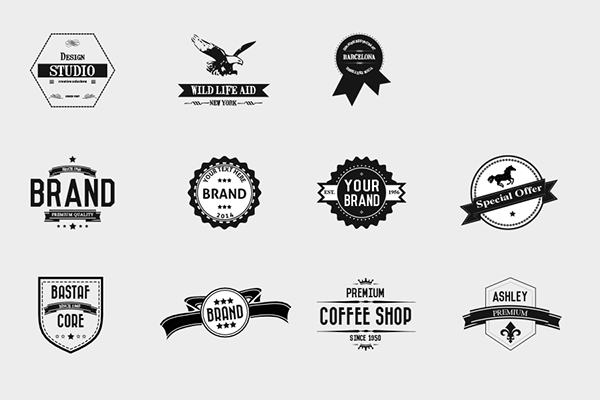 Vintage Logo Template & Insignia Set on Behance