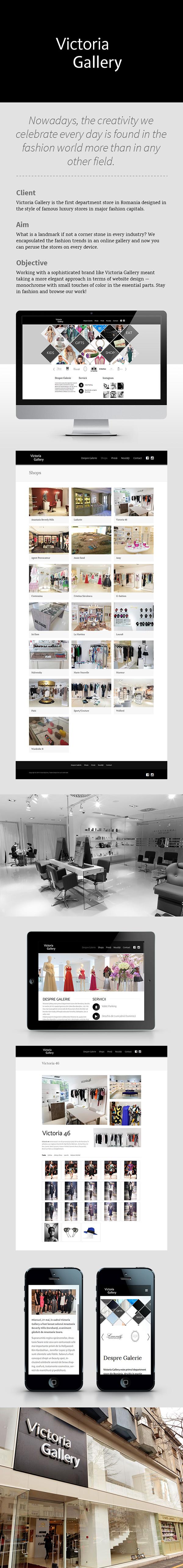 Victoria Gallery - Website