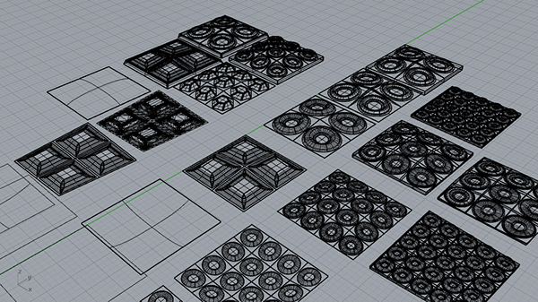 D Printed Ceramic Tiles On RISD Portfolios - 3d printed floor tiles
