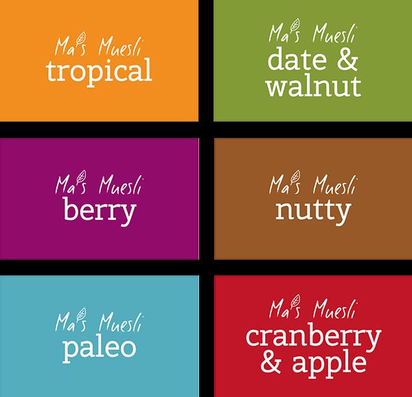 muesli identity organic labels breakfast