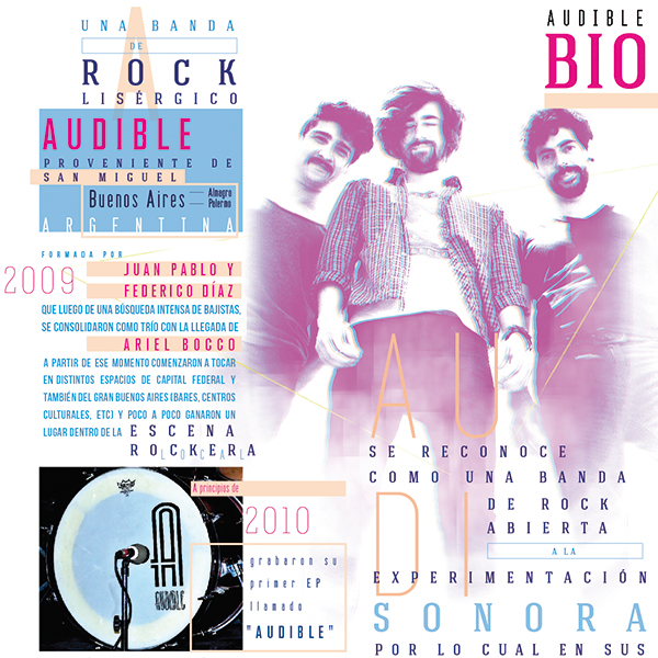 grafica diseño musica rock editorial