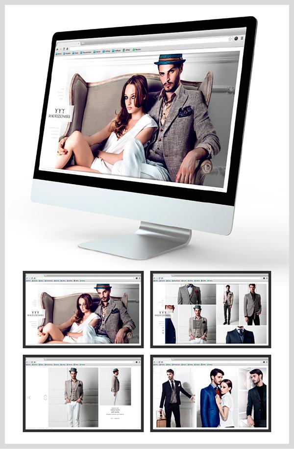 design graphic Website brochure company profile photo Art Design