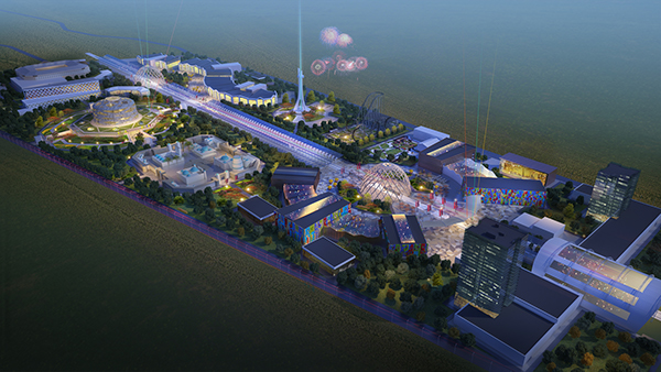 city concept kazakhstan almaty Levelstudio square market outlet