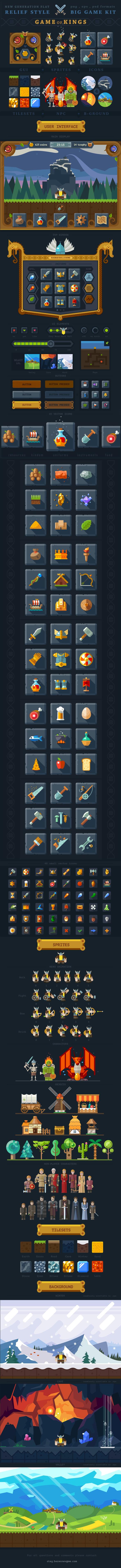 icons flat UI game resources uniform War app Weapon knight cartoon Magic   Armor monster rpg