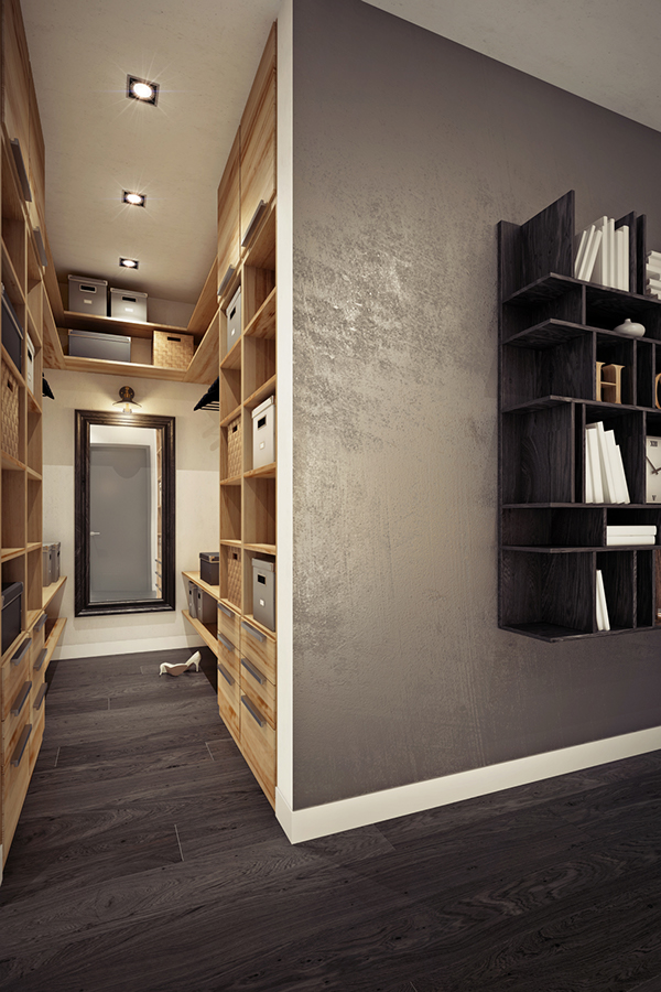 wood small space