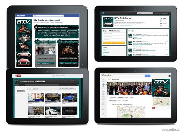 Diseño web desarrollo web social media marketing online