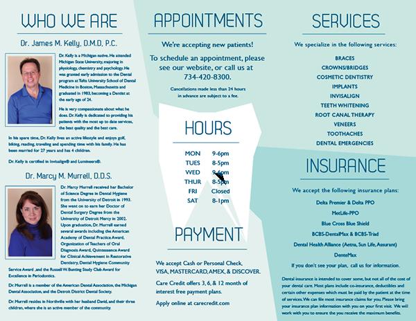 dental office manual template - dental office brochure on behance