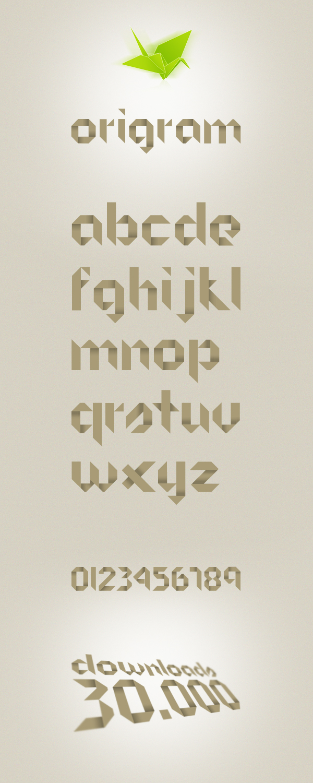 Origram Font Download