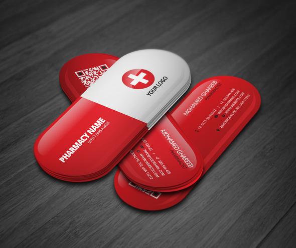 Creative Pharmacist Business Card On Behance