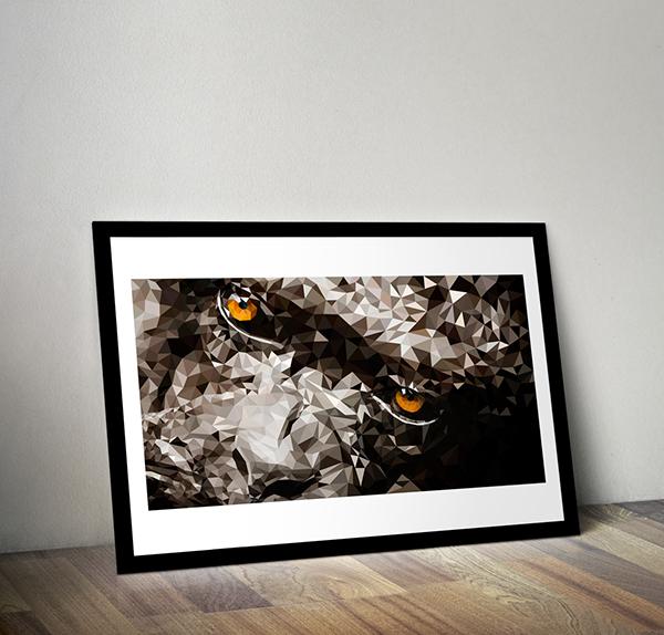 miguel colunga aguascalientes ilustracion mexico digital gorila gorilla vector trace