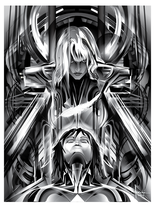 Ghost In The Shell Vector Tribute On Behance